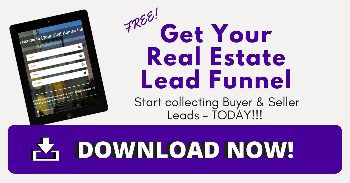 Real Estate Marketing Template Funnel DOWNLOAD
