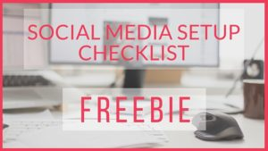 Social Media Checklist Free Download